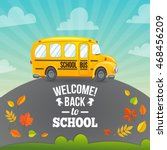 Yellow School Bus And Text....