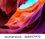 Colorful Wave Shape Rocks At...