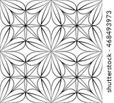 ornamental seamless pattern.... | Shutterstock .eps vector #468493973