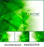 fractal abstract background.... | Shutterstock .eps vector #468502949