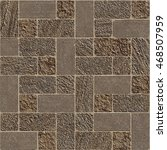 seamless mosaic pattern of... | Shutterstock .eps vector #468507959