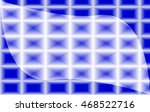 abstract blue and white...   Shutterstock .eps vector #468522716
