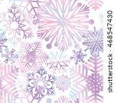snow seamless pattern.... | Shutterstock .eps vector #468547430
