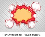 comics symbol of sound and...   Shutterstock .eps vector #468550898