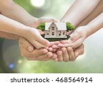 home safety  house insurance ... | Shutterstock . vector #468564914