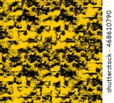 abstract yellow grunge... | Shutterstock . vector #468610790