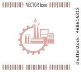 industrial icon | Shutterstock .eps vector #468616313
