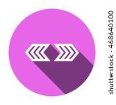 arrow  icon.flat design.