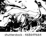 black and white abstract... | Shutterstock .eps vector #468649664