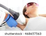 laser hair removal armpits....   Shutterstock . vector #468657563