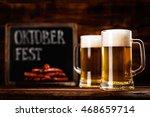 oktoberfest beer | Shutterstock . vector #468659714