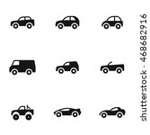 car vector icons. simple...