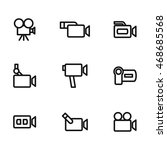 camera vector icons. simple...