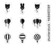balloon vector icons. simple...