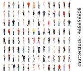clerks compilation united... | Shutterstock . vector #468696608
