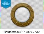 illustration of a bronze or... | Shutterstock .eps vector #468712730