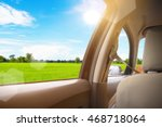view from window car with... | Shutterstock . vector #468718064