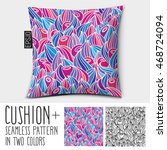 design vector pillow  cushion . ... | Shutterstock .eps vector #468724094
