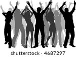 party people   vector | Shutterstock .eps vector #4687297