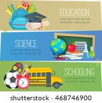vector set of templates to... | Shutterstock .eps vector #468746900