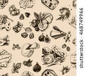 vector illustration sketch  ... | Shutterstock .eps vector #468749966