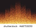 abstract bright golden shimmer... | Shutterstock .eps vector #468753050