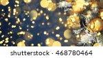 christmas background  | Shutterstock . vector #468780464