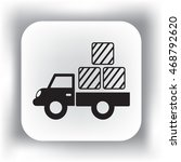 delivery truck icon | Shutterstock .eps vector #468792620