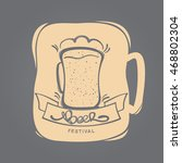 vector illustration  hand drawn ... | Shutterstock .eps vector #468802304