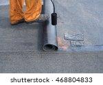 professional installation of... | Shutterstock . vector #468804833