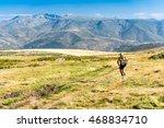 avila  spain   july 30  2016  a ...   Shutterstock . vector #468834710