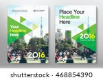 green color scheme with city... | Shutterstock .eps vector #468854390