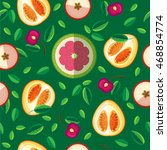 vector seamless pattern of... | Shutterstock .eps vector #468854774