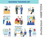 business training and... | Shutterstock .eps vector #468873554