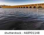 sio se pol bridge on zayandeh... | Shutterstock . vector #468901148
