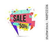 sale discounts and special... | Shutterstock .eps vector #468922106