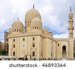 Mosque of Abu El Abbas Masjid, Alexandria, Egypt. Panorama - stock photo