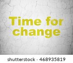 time concept  yellow time for... | Shutterstock . vector #468935819