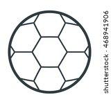 football vector icon | Shutterstock .eps vector #468941906