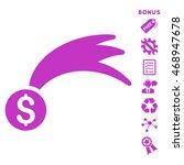 lucky money icon with bonus...   Shutterstock .eps vector #468947678