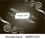 beautiful flower banner | Shutterstock .eps vector #46895125