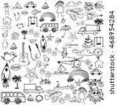 doodle | Shutterstock .eps vector #468954284