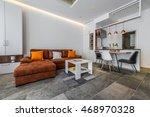 interior design of modern...   Shutterstock . vector #468970328