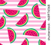 seamless vector pattern with... | Shutterstock .eps vector #468976568