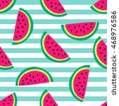 seamless vector pattern with... | Shutterstock .eps vector #468976586