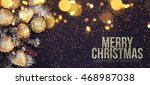 christmas background  | Shutterstock . vector #468987038
