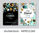 collection of universal modern... | Shutterstock .eps vector #469011260
