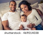 beautiful young afro american... | Shutterstock . vector #469014038