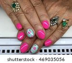 nail art | Shutterstock . vector #469035056