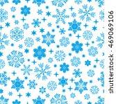 snowflake pattern. vector... | Shutterstock .eps vector #469069106